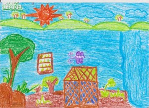 Mother Earth kids drawings 006