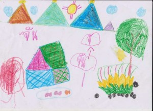 Mother Earth kids drawings 010