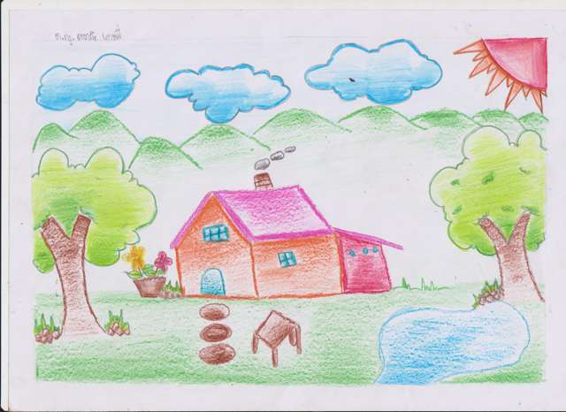 Mother Earth kids drawings 016
