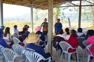 women's biochar training