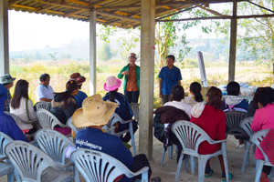 women's biochar training