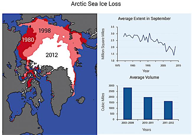 climate change impact on arctic-sea-ice-loss