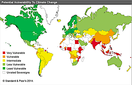 What Impacts Will Climate Change Have In The Developing World - Climate world map