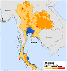 Thailand sea rise