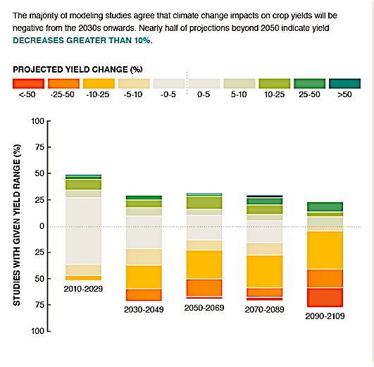 climate change impacts production