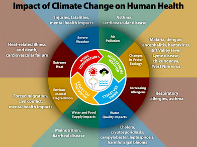 climate change impacts health