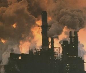 Climate change causes - smoke