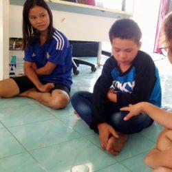 Lalita translating for Pagu