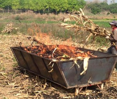 3-original-t2k-on-sled-cornstock-feedstock-burn