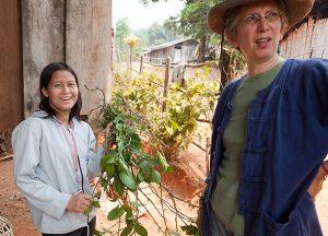 Sripan and the indigo leaves