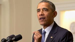 Photo of U.S. President Barack Obama by AP