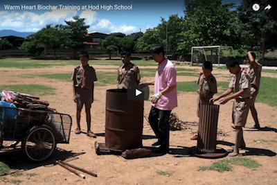 Hod High School Biochar Training