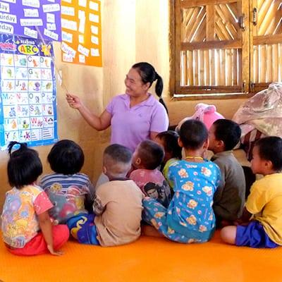 volunteer in education