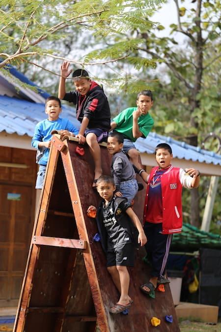 children's homes climbing apparatus