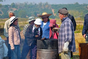 Warm Heart Holds Biochar Training For Women