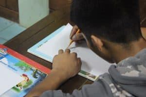 disadvantaged children - art