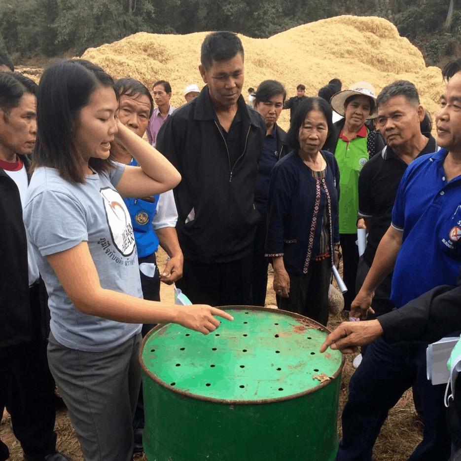 Biochar training Mae Chaem