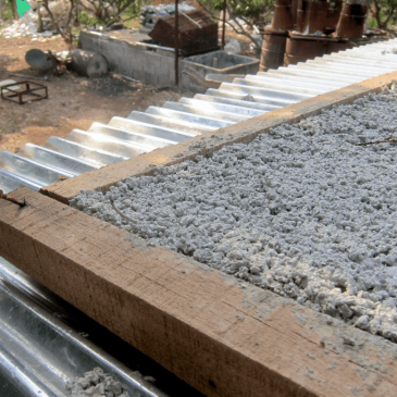 Foam cement: It's not only about bricks